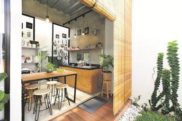 Inspirasi Desain Dapur Industrial Ala Damaricha Menyatu Dengan Taman Semua Halaman Idea