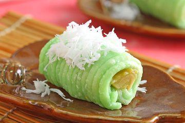 Resep Kue Tradisional Getuk Gulung Isi Pisang Nikmat Disantap