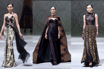 Koleksi Gaun Pesta Batik Modern Karya Desainer Muda Appmi Jawa Barat