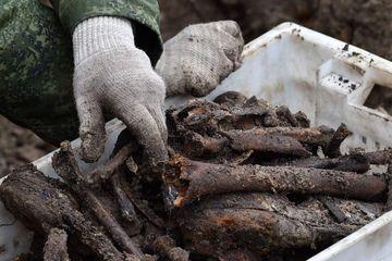 Kerangka Orang-orang Yahudi Korban Kekejaman Nazi Ditemukan di Belarus
