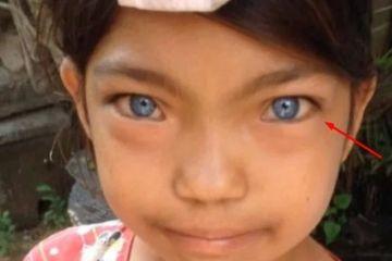 Berselimut Misteri,  Kisah Warga Suku dari Pedalaman Halmahera dengan Bola Mata Berwarna Biru