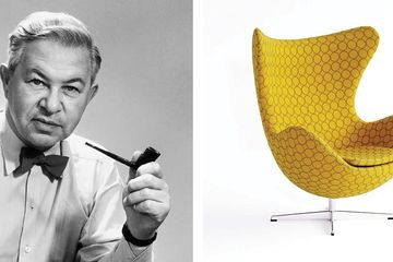 Tak Lekang Oleh Zaman Begini Sejarah Egg Chair Kursi Yang Mirip Cangkang Telur Semua Halaman Idea