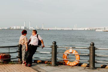 Memotret Aktivitas di Sekitar Pelabuhan Yokohama dengan OPPO Reno 10x Zoom