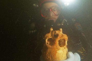 Kerangka Manusia Berusia 10 Ribu Tahun Ditemukan di Gua Bawah Laut