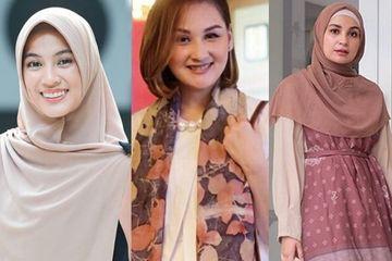 Bosan Rayakan Idulfitri Dengan Model Baju Yang Itu Itu Saja Yuk Contek Ide Gamis Lebaran 2020 Ala Keluarga Para Selebriti Semua Halaman Nakita