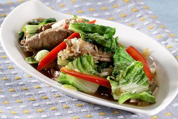 Resep Tumis Sawi Keriting Enak Banget Dengan Tambahan Irisan Daging Semua Halaman Sajian Sedap