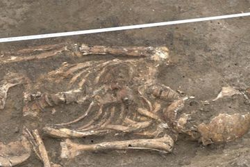 Kerangka Prajurit Samartia Kuno Ditemukan di Proyek Pembangunan Jalan