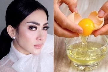 Cuma Modal Putih Telur Dan Tepung Beras Miliki Wajah Cerah Dan Anti Kendor Bak Syahrini Begini Cara Membuatnya Semua Halaman Sajian Sedap
