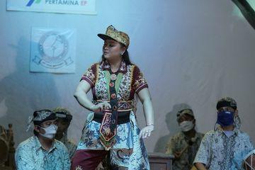 Manfaatkan Teknologi, Roh Tari Topeng Mimi Rasinah Bangkit di Tengah Pandemi