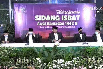 Sidang Isbat: 1 Ramadan 1442 Hijriah Jatuh pada 13 April 2021
