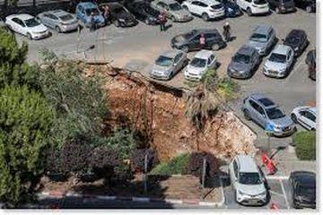 Kemunculan <a href='https://medan.tribunnews.com/tag/sinkhole' title='sinkhole'>sinkhole</a> di <a href='https://medan.tribunnews.com/tag/yerusalem' title='Yerusalem'>Yerusalem</a>