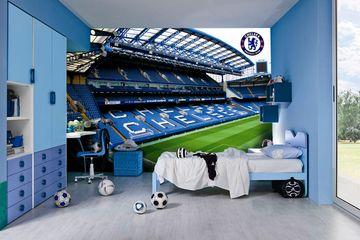 Desain Kamar Tidur Bertemakan Chelsea Fc Idea
