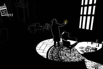 White Night Misteri Rumah Hantu Dengan Gambar Hitam Putih Makemac