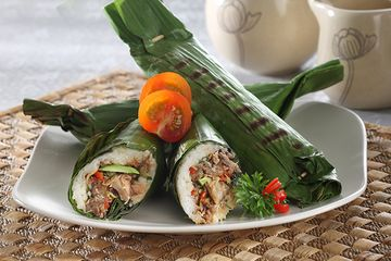 Nasi Bakar Peda Pedas Makan Siang Istimewa Yang Praktis Dibuat Sajian Sedap