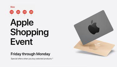 Apple Bagikan Gift Card Gratis Hingga $200 di Black Friday