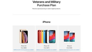 Apple Online Store Meluncurkan Veterans and Military Purchase Program