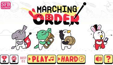 Review Marching Order, Bermain Marching Band Sesuai Urutan