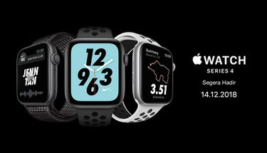 Bocoran Harga Apple Watch Series 4 di Indonesia, Mulai dari 7 Jutaan