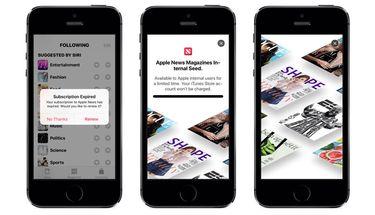 Bocoran Tampilan Layanan Berlangganan Apple News di iOS 12.2 Beta
