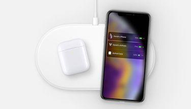 Gambar AirPower Bersama iPhone XS Bocor di Web Apple