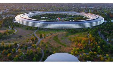 Terungkap, Bangunan Misterius di Tengah Apple Park untuk Acara 17 Mei