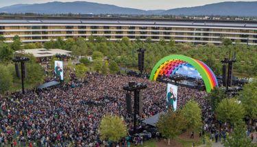 Pembukaan Apple Park dengan Penampilan Lady Gaga dan Kenang Steve Jobs