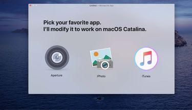 Aplikasi Retroactive Hadirkan Aperture Hingga iTunes ke macOS Catalina