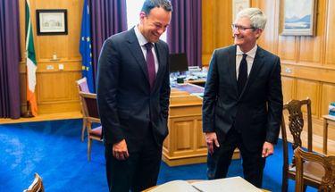 CEO Apple, Tim Cook Menerima Penghargaan dari Pemerintah Irlandia