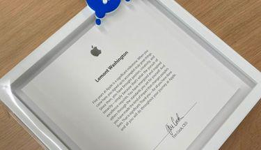 Penghargaan ini Diterima Karyawan Apple Bila Telah Bekerja 5 Tahun