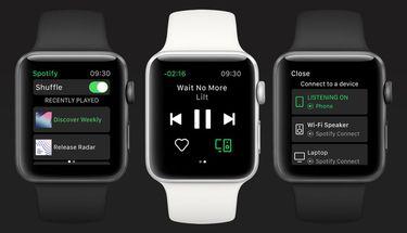 Spotify Rilis Aplikasi untuk Apple Watch