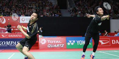 Ahsan/Hendra Melangkah ke Babak Kedua Indonesia Masters 2019
