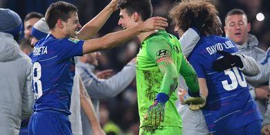 David Luiz: Tak Ada Keraguan Pemain Chelsea terhadap Maurizio Sarri