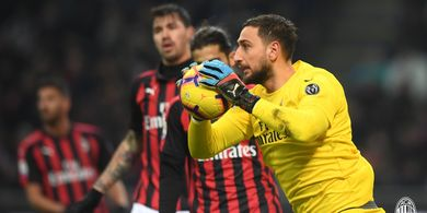 Starting XI Parma Vs AC Milan - Laga Comeback Gianluigi Donnarumma