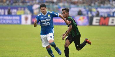 Kondisi Esteban Vizcarra Semakin Mantap Jelang Persib Hadapi Arema FC