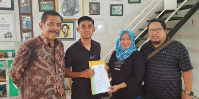 Manajer PSS Sleman, Retno Sukmawati Harus Dibawa ke Rumah Sakit