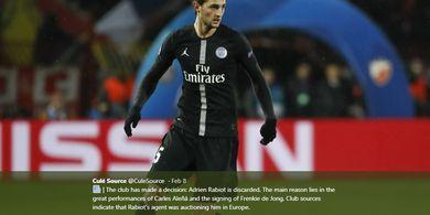 Barcelona Capai Kesepakatan Personal guna Datangkan Adrien Rabiot