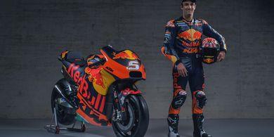 Johann Zarco Pede Bisa Bantu Tim KTM Berkembang pada MotoGP 2019