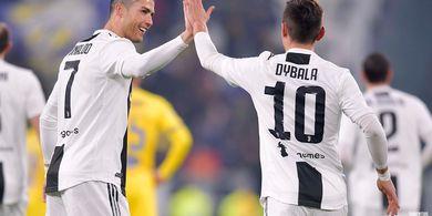 Hasil Liga Italia - Ronaldo Ukir Gol dan Assist, Juventus Tekuk Frosinone
