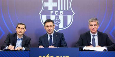 Makan Malam Istimewa antara Ronaldo Luis dan Bos Barcelona