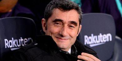 Tak Khawatir Dipepet Real Madrid,  Valverde Pamer Posisi Barcelona