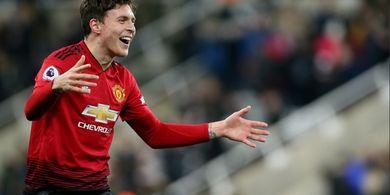 Usai Kalah, Victor Lindelof Targetkan Kemenangan untuk Man United