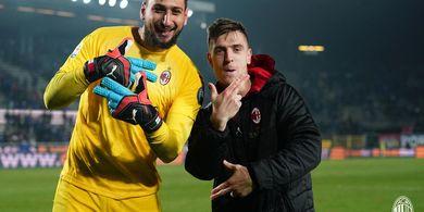 AC Milan Gagal ke Liga Champions, Salahkan Gianluigi Donnarumma dan Fabio Borini!