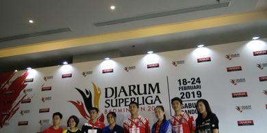 Pebulu Tangkis Elite Dunia Siap Ramaikan Bandung pada Djarum Superliga Badminton 2019