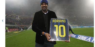 VIDEO - Adriano Ulang Tahun, Ini 3 Gol Terindah dan Kisah Tragisnya di Inter Milan