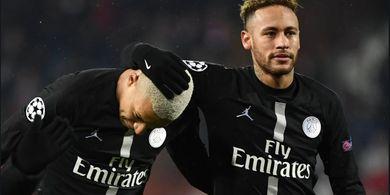 Presiden PSG Bantah Kabar Kepergian Neymar dan Mbappe Musim Panas 2019
