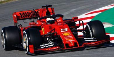 Sebastian Vettel Akui Puas dengan Kinerja Ferrari Selama Pramusim