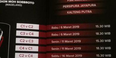 Jadwal Grup C Piala Presiden 2019, PSIS Dikeroyok Klub Luar Jawa