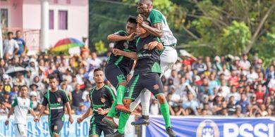 Sempat Tertahan, Persebaya Akhirnya Pesta Gol ke Gawang Persidago