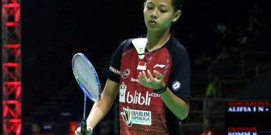 Djarum Superliga Badminton 2019 - Alifia Intan: Saya Enjoy Saja