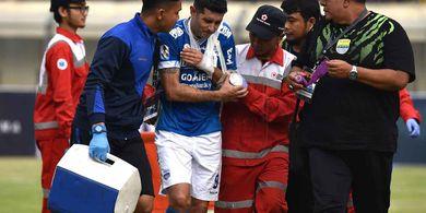 Dokter Persib Ragukan Vizcarra Tampil untuk Laga Leg 2 Kontra Arema FC